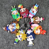 action figure digimon - 7 cm Digimon Adventure Taichi Yagami Ishida Yamato Keychain PVC Action Figure Doll Toy Collection For Gifts