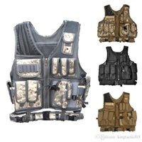 airsoft products - MOLLE Nylon Combat Paintball Tactical Vest Outdoor Products Airsoft Vest Security Tactical Vest