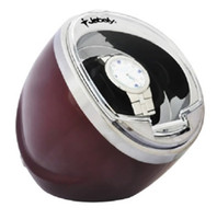 Wholesale Jebely Time Tutelary Black Automatic Single Kinetic Watch Winder New JA003 Red