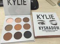 Wholesale Kylie Cosmetics Bronze Eyeshadow KyShadow Palette colors Eye Shadow Palette