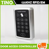 Wholesale 125KHz Rfid EM Proximity Keypad Single Door Access Controller for Access Control System Standalone Touch screen