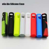 Wholesale Cheapest Joyetech ego aio Silicon Cover Case colorful silicone Case protective Cover cases for Joyetech eGo Aio starter kit