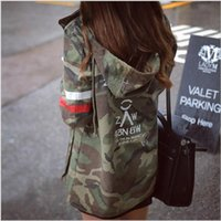 Wholesale Jacket Women New Arrival Female Army Green Printed Camouflage Jacket Chaquetas Mujer Fall Jackets For Women Coat