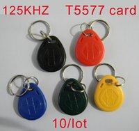 access blank - khz Writable Keyfobs RFID T5577 Proximity Rewritable Blank Keychains Access Control token Tags