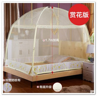 Wholesale Mongolian Yurt Mosquito Net mosquito net Ger nets meters Double Bed mosquito bar home application feet open door baby mosquito net