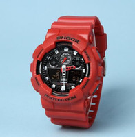 g-shock - Original Color All Function ga100 Led Army Military Shocking Watches Mens Waterproof S Shock Watch Digital G Sports Wristwatch