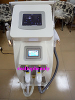 Wholesale Online shopping Double screen laser opt rf remover hair system in multifunctional leg bikini underarm virgin hair removal machine