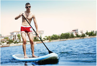 Wholesale SPK2 cm high quality plate material water skiing board surf board inflatable boat include oar pump