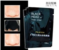 Wholesale PILATEN Suction Face Care Black Mask Cleaning Tearing Comedones Strip Deep Cleansing Nose Acne Blackhead Facial Mask Remover Peels Head Mask