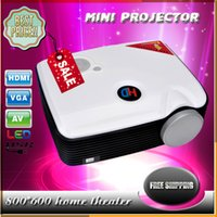 best home tv lcd - High quality PH5 Mini Projector LCD lumens x600 Resolution W LED Projectors Best TV Projector