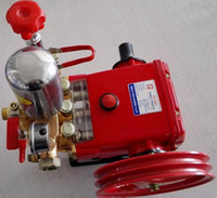 agricultural water pumps - Agricultural Motor Sprayer Pump High Pressure Triplex Plunger Pump