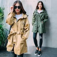 army trench coat - The new autumn Handsome uniform wind long trench coat of cultivate one s morality