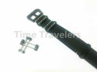 Wholesale For Suunto Core Watch Band MM Black Nato Genuine Leather Watchband Strap PVD Buckle Adapters Lugs