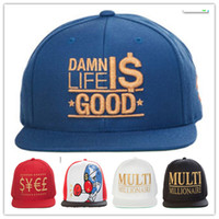 baseball hard hat - Cheap TMT Snapback Hats Hiphop Money Baseball Caps Tbe Fashion Flat Brim Hats Hard Work Cap