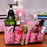 attractive storage boxes - Attractive HOT Dot Cosmetic Desktop Box Storage Folding Cosmetic Box Cosmetic Bag J6