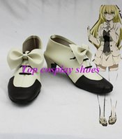 ada accessories - Freeshipping anime Pandora Hearts Cosplay Shoes Ada Vessalius s Bow Detailed Shoes Hand made custom made for Halloween Christmas