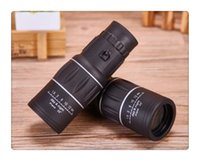 Wholesale 16x52 HD Optical Monocular Outdoor Observing Survey Camping Hiking Telescope Drop Shipping