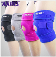 Wholesale pair AOLIKES knee pads for cycling mountaineering Meniscus injury protetor de joelho support Sports kneepad rodilleras brace