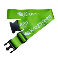 Promotion belt finder - 2016 Fashion Luggage Belt Strong Retractable Luggage Belts imprint luggage belt polyester travel luggage belt