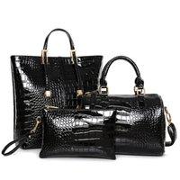 best messenger bags for women - Alligator Pattern set Luxury Best Handbags for Women Vintage Gold Silver Black Messenger Bag Shoulder bag Crossbody Bag