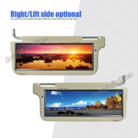big pc monitors - 2 X Inch Automotivo Auto Car Universal Sun Visor TFT LCD Sunvisor Monitor Big Screeen Mobile Audio Video System