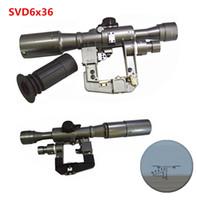 ak rifle scope - XWXS AK SVD x36 rifle scope side rail mount hunting shooting