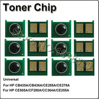 Wholesale Compatible universal toner chips for HP a a a a a a a a a a a a ce255a metered reset chips