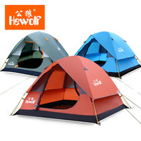 backpacking fishing pole - 4 Person Large Camping Tent Outdoor Waterproof Double Layer Aluminum Pole Dome Summer UV Awning Beach Tente Fishing Portable