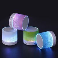 Wholesale Bluetooth Speaker Wireless Speaker LED A9 Subwoofer Stereo HiFi Player for IOS Android Phone up