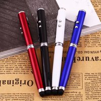 Wholesale in Laser Pointer LED Torch Touch Screen Stylus Ball Pen for iPhone Brand New Hot Selling