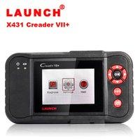 Wholesale High quality Original Launch Creader VII Creader VII Plus creader plus creader Auto Code Reader CRP123 crp123 scanner Update online