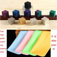 neo magnet - Ndfeb Colorful Magic Cube mm Neo Magic Magnet Cube Puzzle Magnetic Balls with Metal Box DIY Education Toy
