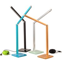 adjustable work table - New Foldable SMD LEDs Adjustable Desk Lamp Reading Study Light Color Avaliable Eye Production Bedside Table Work Study Lamps