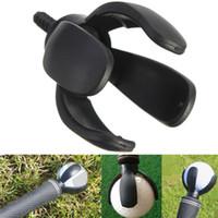 Wholesale 4 Prong Golf Ball Pick Up Retriever Grabber Claw Sucker Tool For Putter Grip