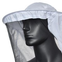 Wholesale High Quality White Protective Beekeeping Jacket Veil Dress With Hat Equip Suit Smock