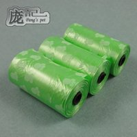Wholesale on sale Pet printing garbage bags environmental protection can be equipped with garbage collector to pick up