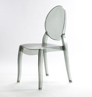 Wholesale ghost chair plastic chair wedding chair low price chair