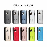 beat sets - IPhone ten color TPU PC beat a China mobile phone shell combo break set cookies i phone cases universal flip phone case
