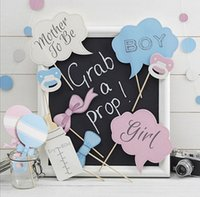 baby shower cake photos - 10pc Pink and Blue Kit Funny DIY Masks Cake Stick Photo Booth Props for Baby Shower st Birthday Party