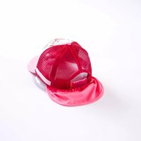 baby trucker hats - 2016 New Unisex Baby Messh Trucker Cap Kids Sun Protection Hat with Detachable Reflective Cloth Top Quality KidsTravel Hats