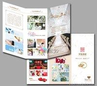 Wholesale 1000pcs Custom printing Tri Fold Brochure Printing tri fold brochure A4