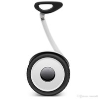 Wholesale Original Xiaomi Ninebot balancing Scooter mini Car km h km Two Unicycle Wheels Smart System Phone APP Alloy body LED Lights