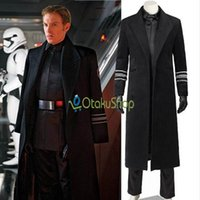 Wholesale star wars costume General Hux cosplay costume Halloween party costumes Movie Outfit Whole Set Uniform for Adult Men