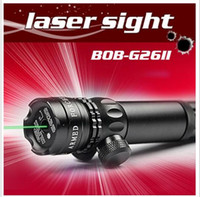 Wholesale 532nm mw Tactical hunting Scopes Green Laser Sight Scopes Rifle For Pistol With Rifle Scope Mounts JDFJIF56 BOB G26 II