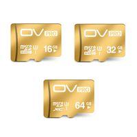 64gb pro clase España-OV Micro SD Extreme U3 Tarjeta UHS-3 de 90MB / s Tarjeta de memoria TF de 16GB 32GB 64GB TF Tarjeta de la clase 10 TF la mejor opción para el vídeo 4K para Smartphone