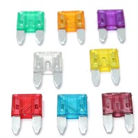 Wholesale New Mini Car Auto Truck Blade Fuse Amp Mixed Colors Promotion