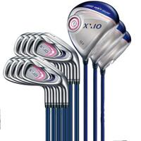 Wholesale Discount Sale Full Set Women XXIO M P Golf Clubs Woods Irons R S Flex Available
