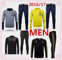 Wholesale 2016 juventus Barcelona men jerseys Survetement adult tracksuit soccer maillot training suits maillot Sweatshirts Football Shirt Pants