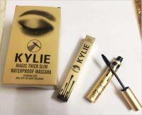 Wholesale Kylie Jenner makeup mascara cosmetic magic thick slim waterproof mascara Black Eye Mascara Metal Tubes Long Eyelash