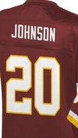 Wholesale Jeron Johnson Washington elite JERSEY shirts size S small xl